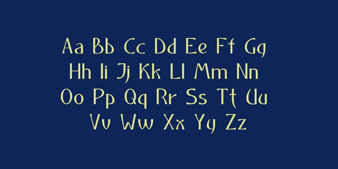 Download Neocyr font (typeface)