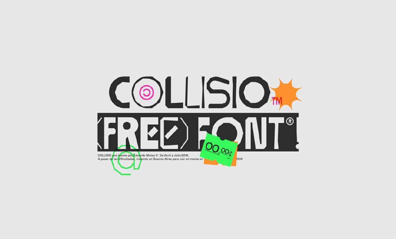 Download Collisio font (typeface)