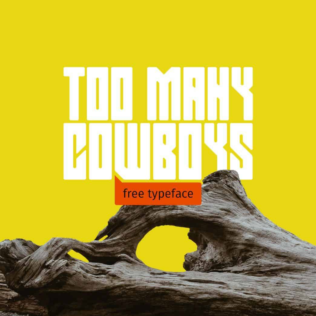 Download Too many cowboys font (typeface)
