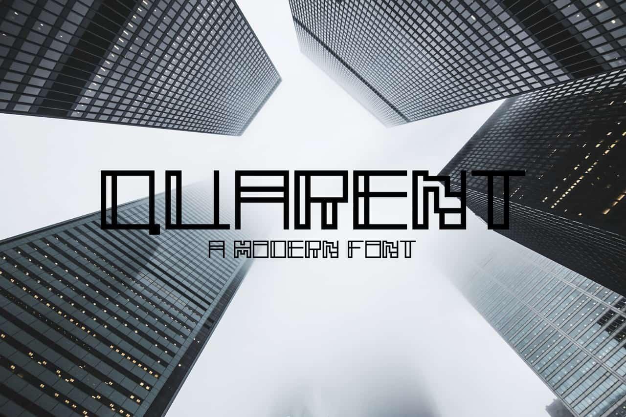 Download Quarent font (typeface)