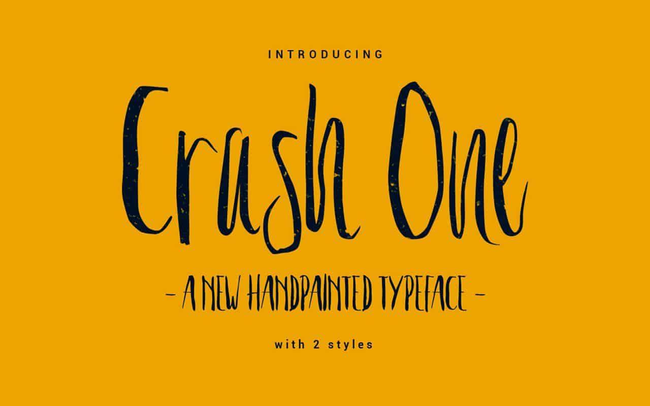 Download Crash One font (typeface)