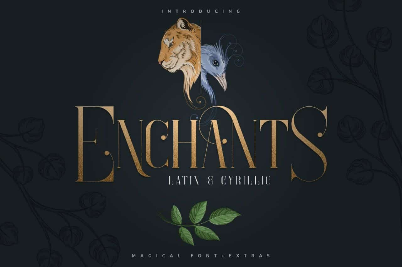 Download Enchants font (typeface)