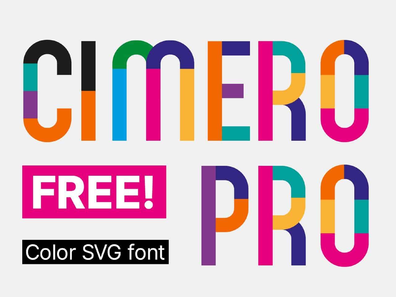 Download Cimero Pro font (typeface)