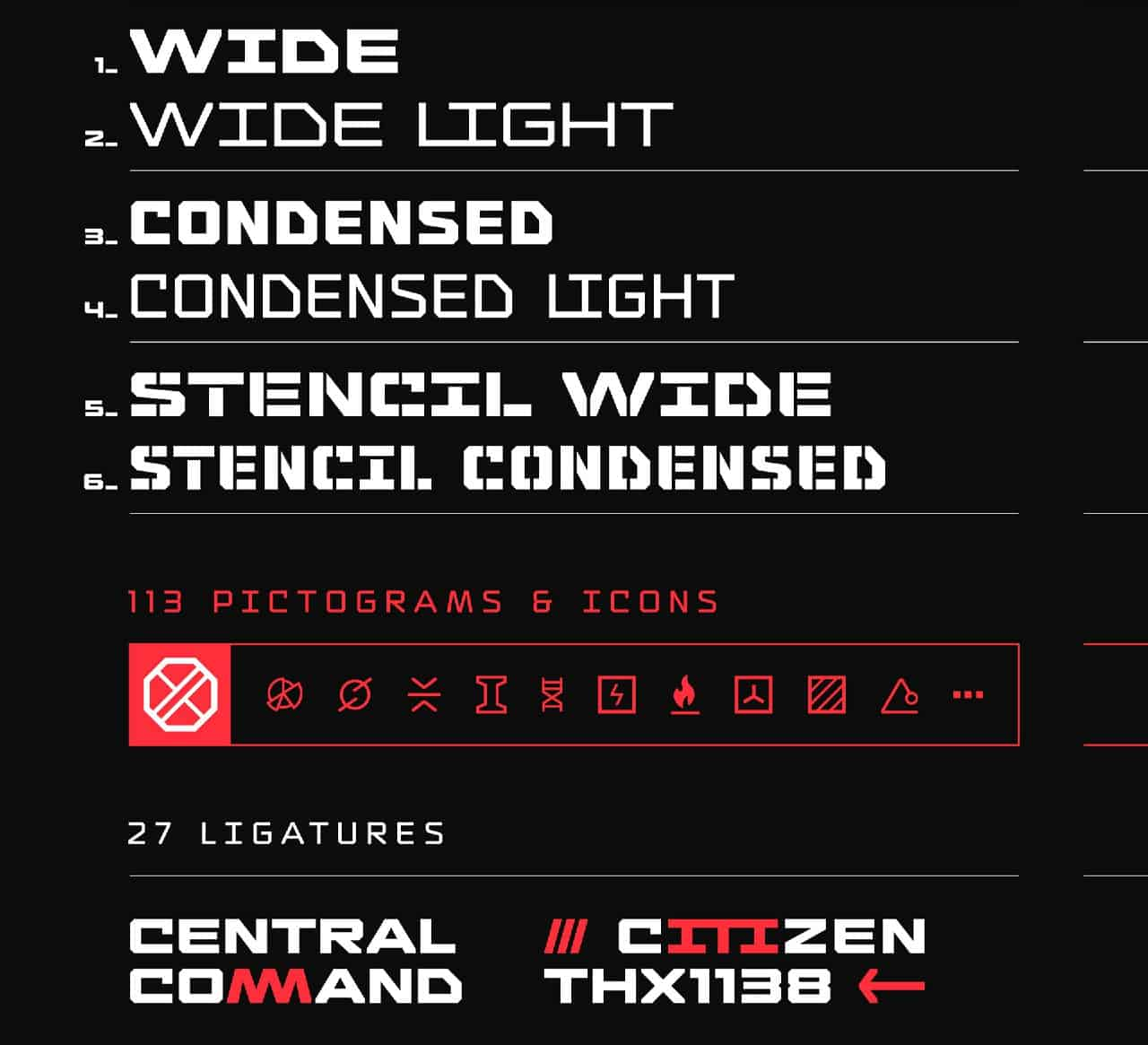 Download Thedus font (typeface)