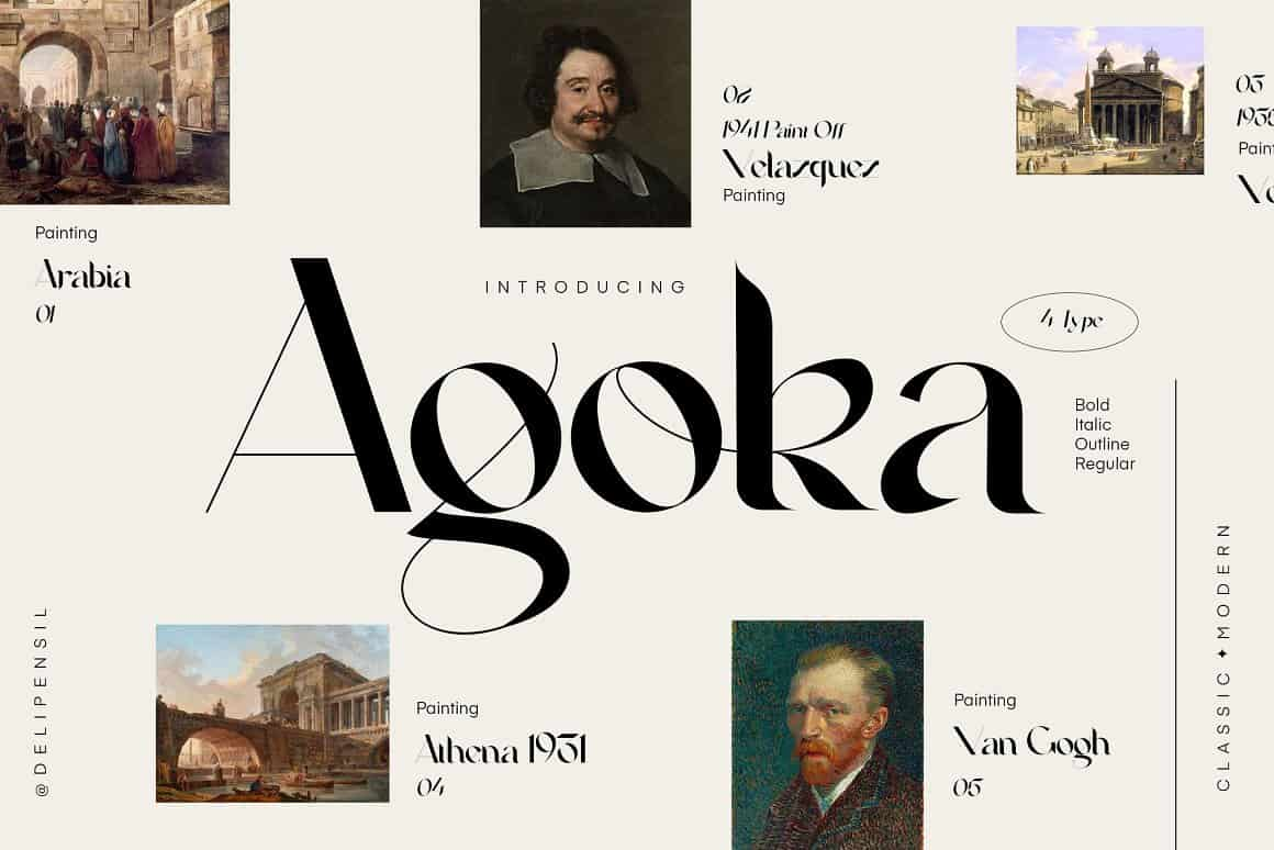 Download Agoka font (typeface)