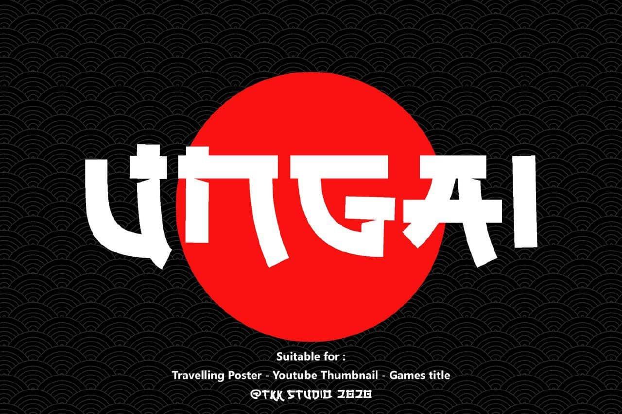 Download Ungai font (typeface)