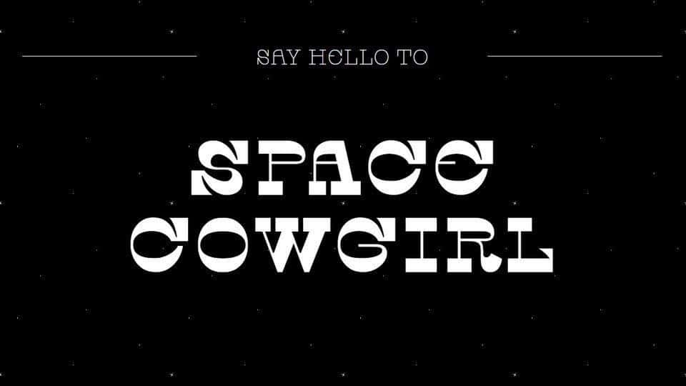 Download Space Cowgirl font (typeface)