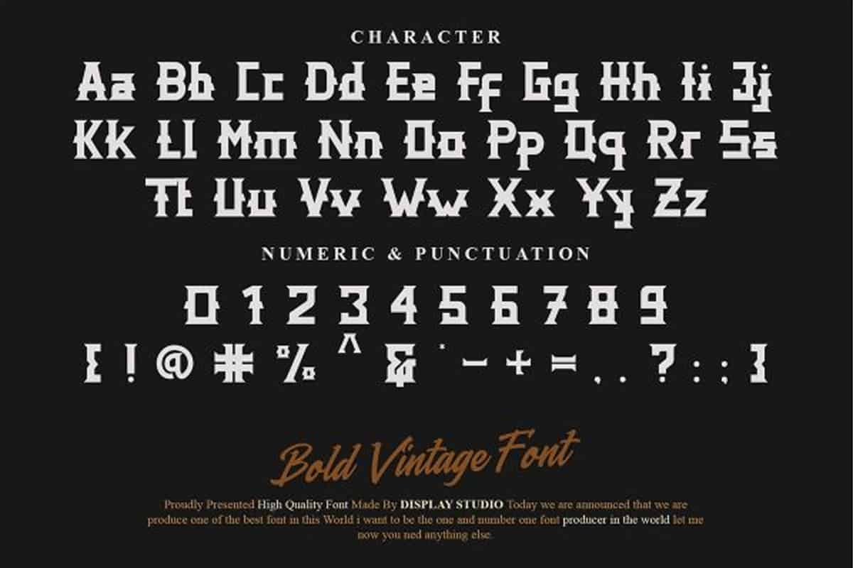 Download Distric of Barthon font (typeface)