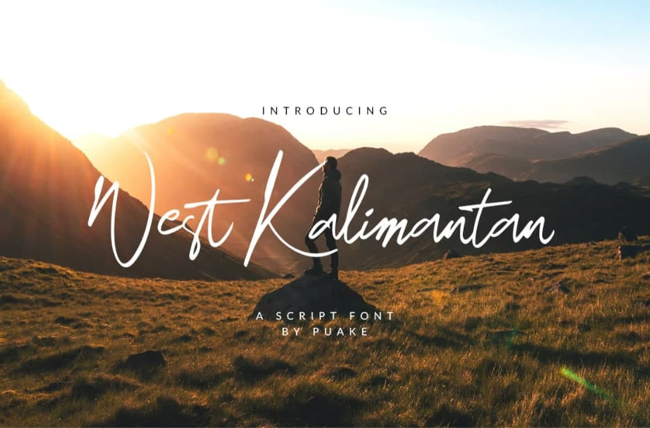 Download West Kalimantan font (typeface)