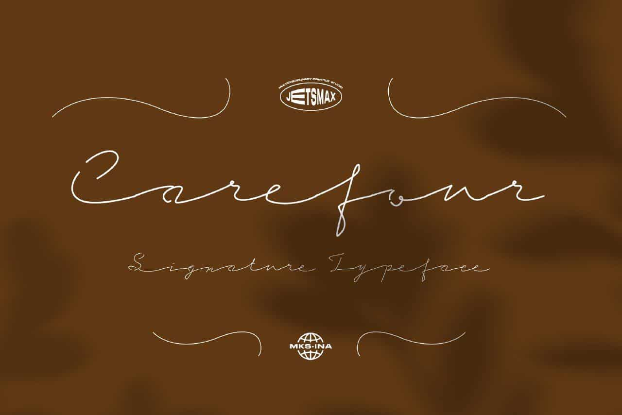 Download Carefour font (typeface)