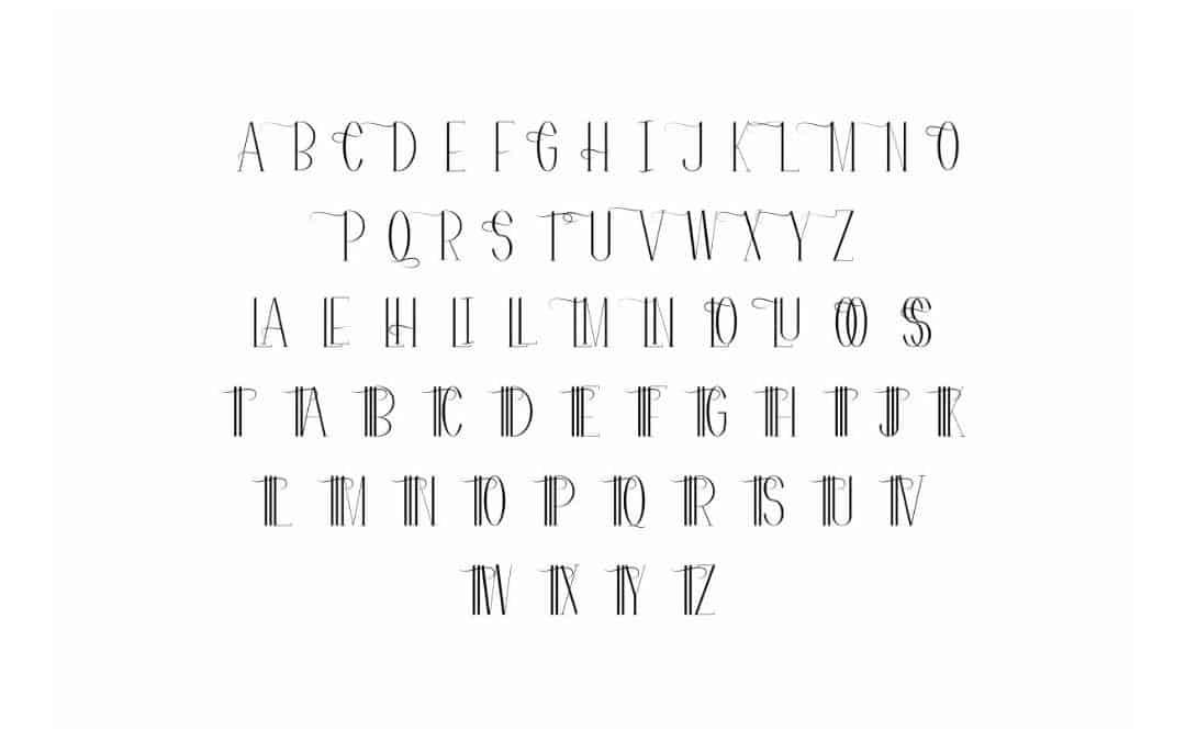 Download Flatters font (typeface)