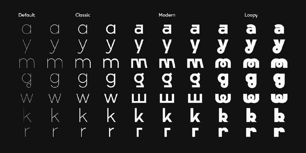 Download Vary Light font (typeface)