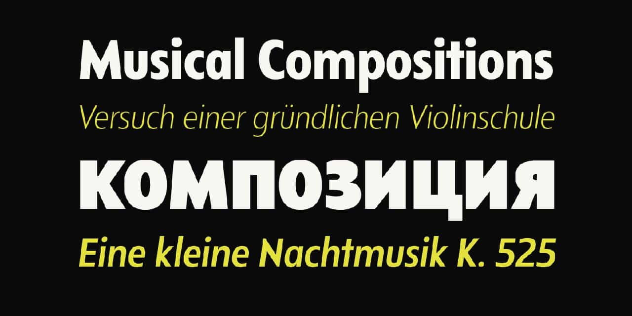 Download Departura font (typeface)