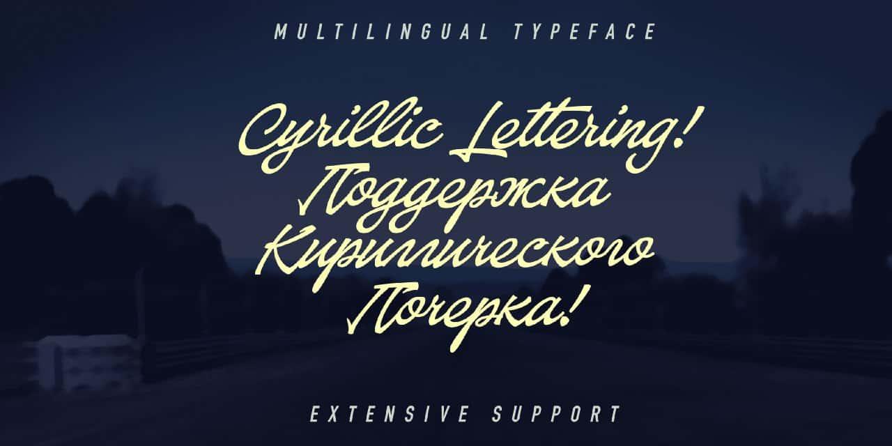 Download Baystar Script font (typeface)