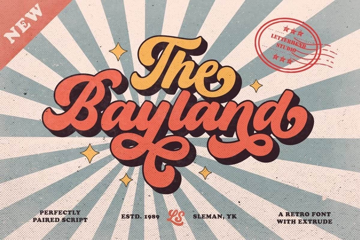 Download The Bayland font (typeface)