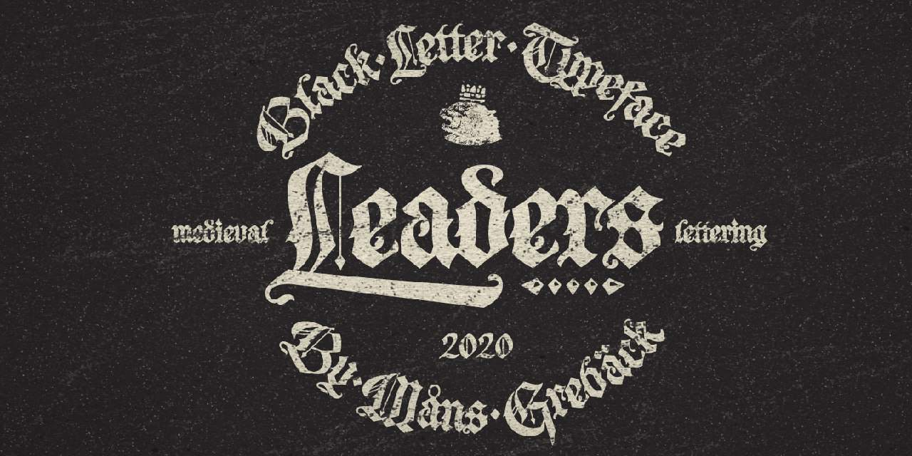 Download Leaders font (typeface)