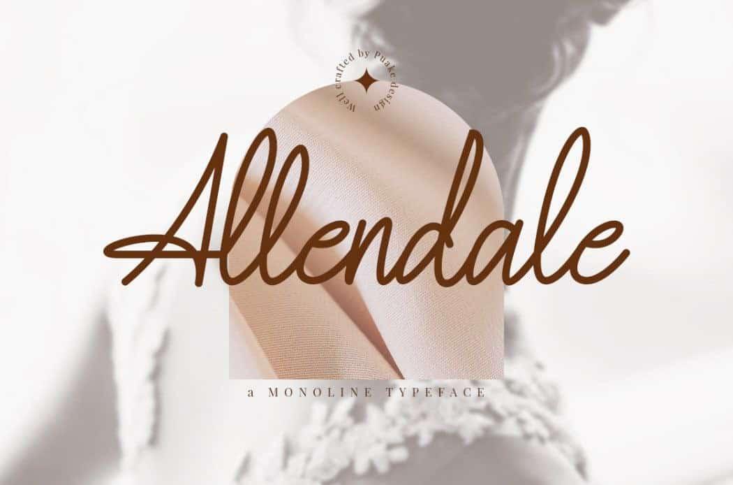 Download Allendale font (typeface)