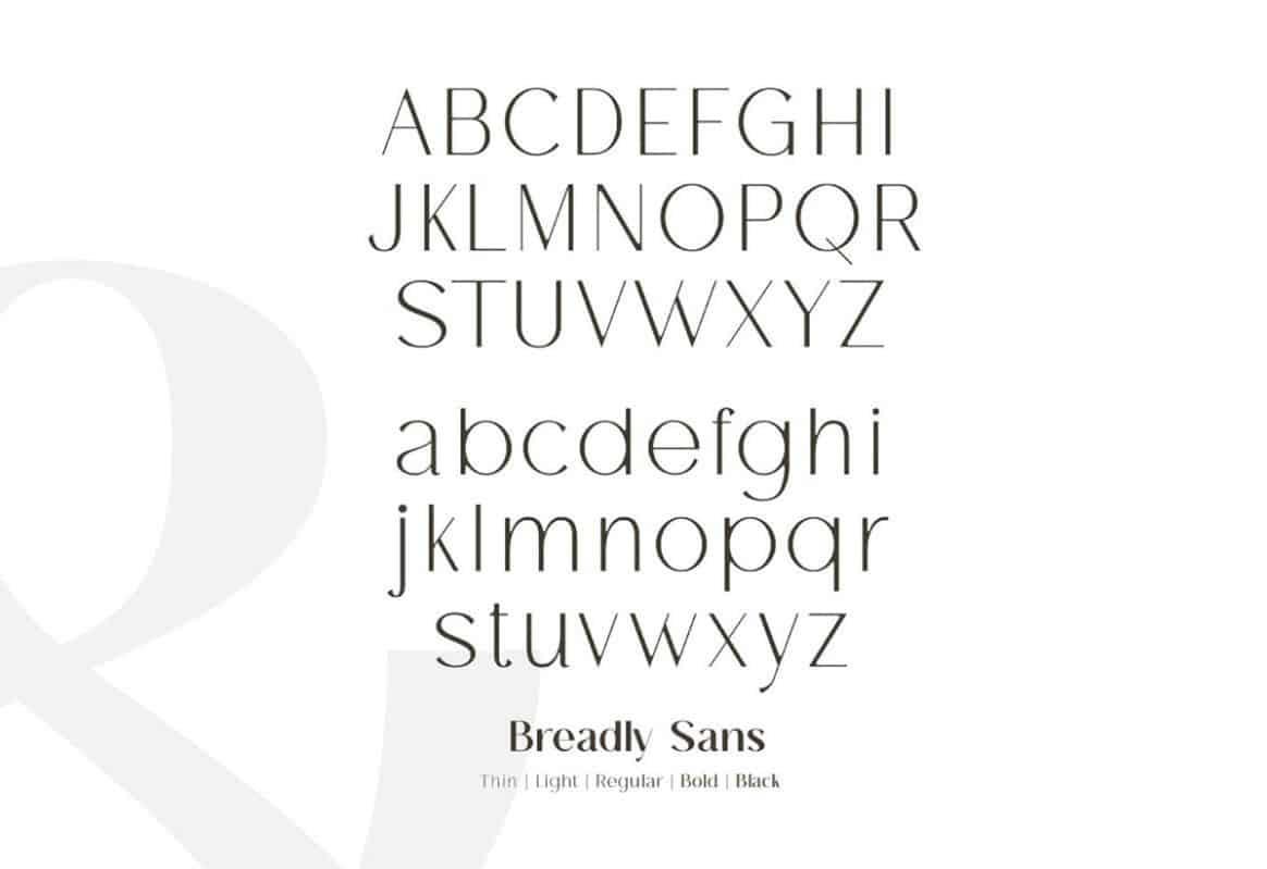 Download Breadley font (typeface)