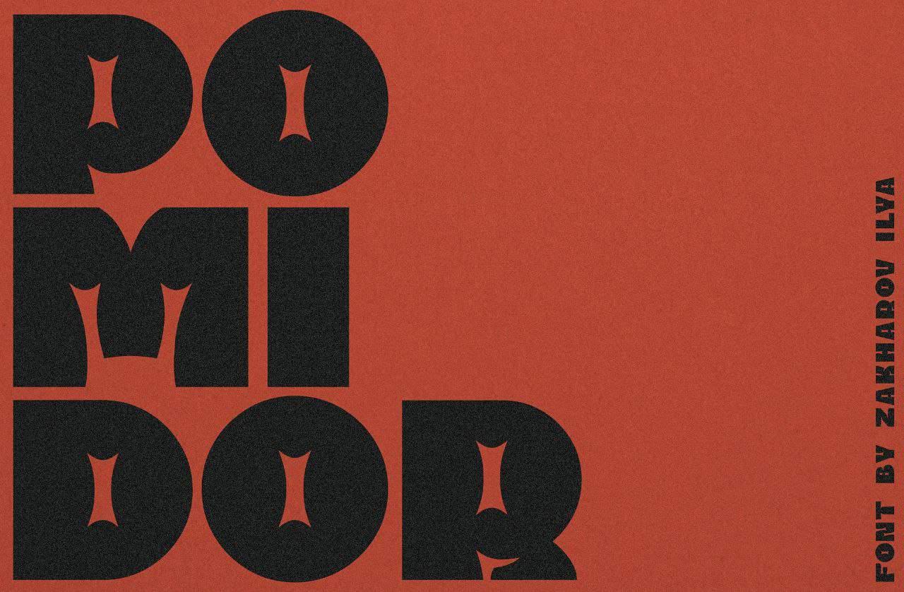 Download Pomidor font (typeface)