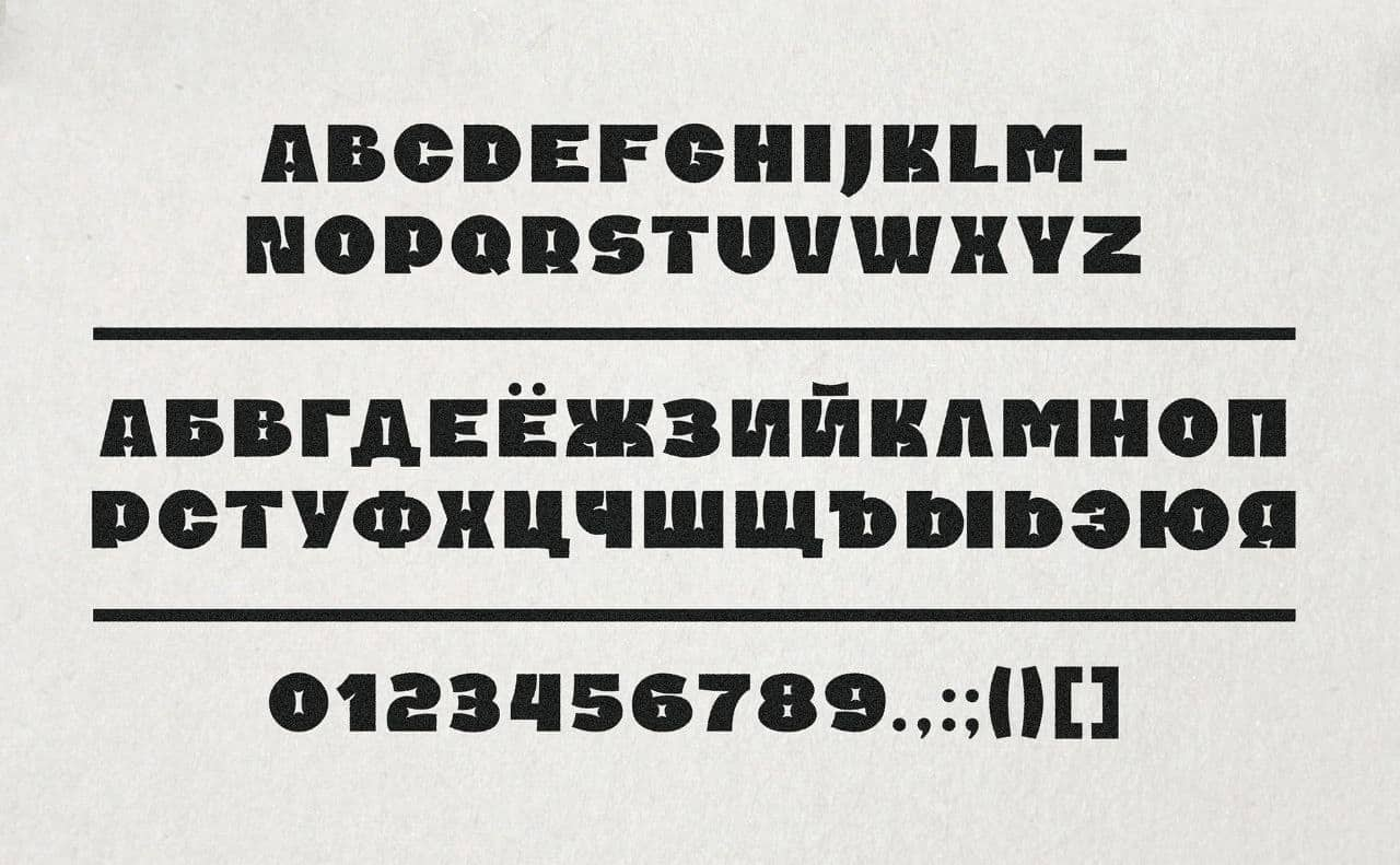 Download Pomidor font (typeface)