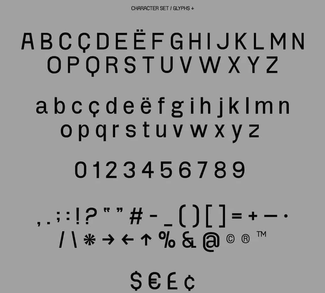 Download Project Blackbird font (typeface)