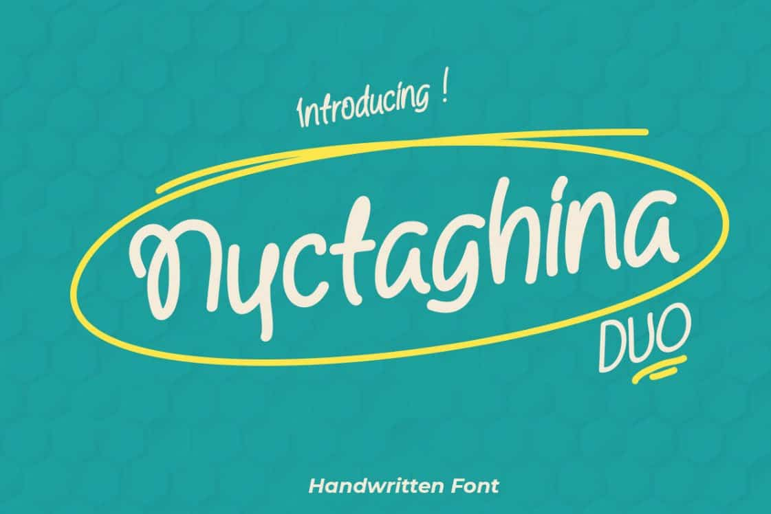 Download Nyctaghina font (typeface)