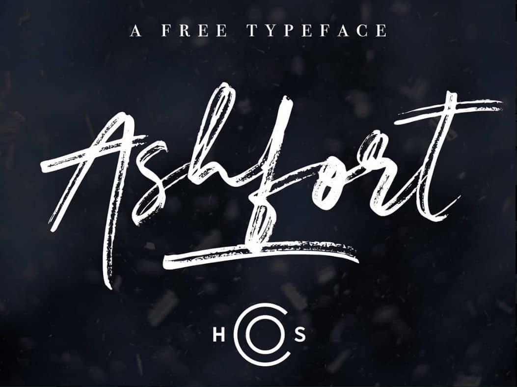 Download Ashfort font (typeface)