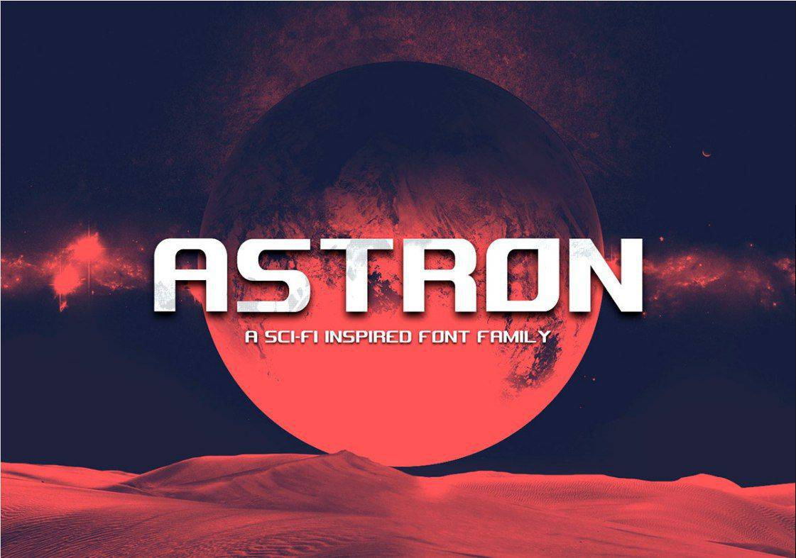 Download Astron font (typeface)