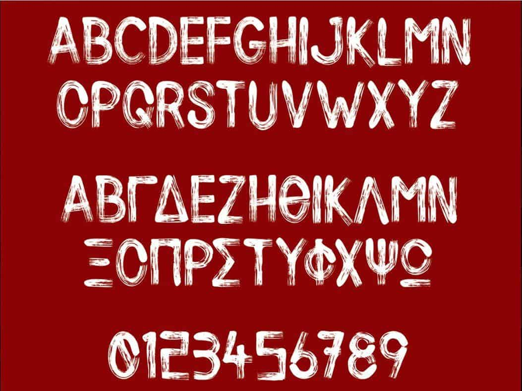 Download Silent Scream font (typeface)