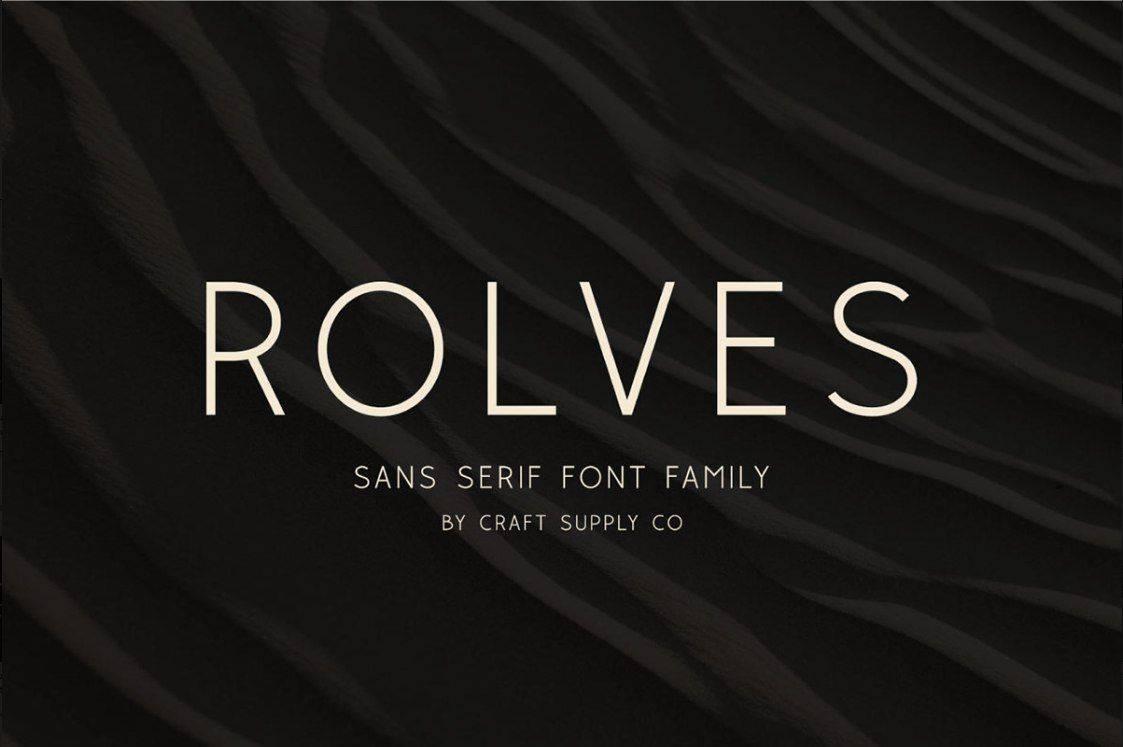 Download Rolves font (typeface)