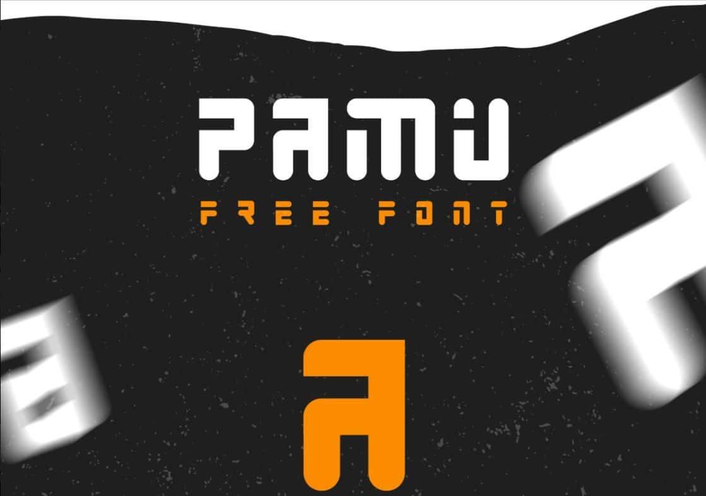 Download PAMU font (typeface)