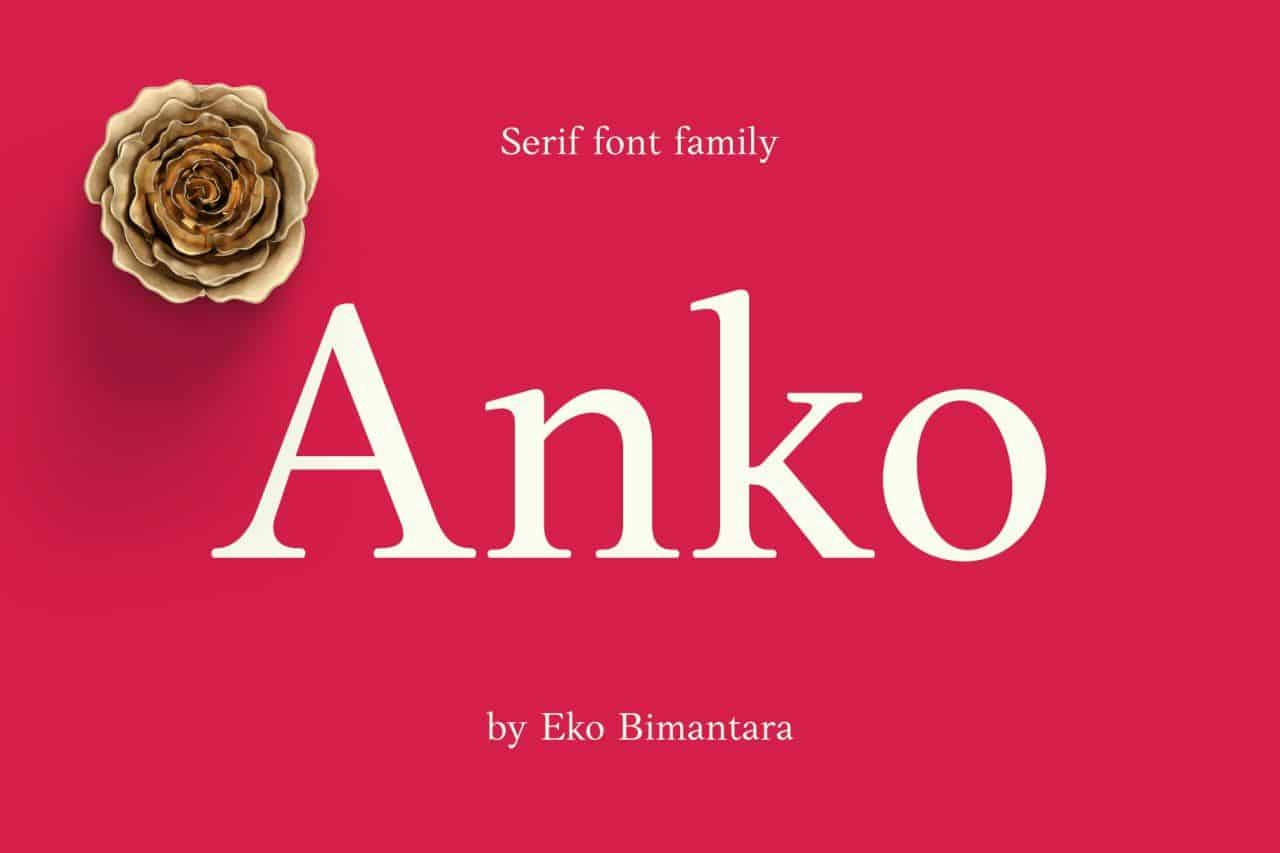 Download Anko font (typeface)