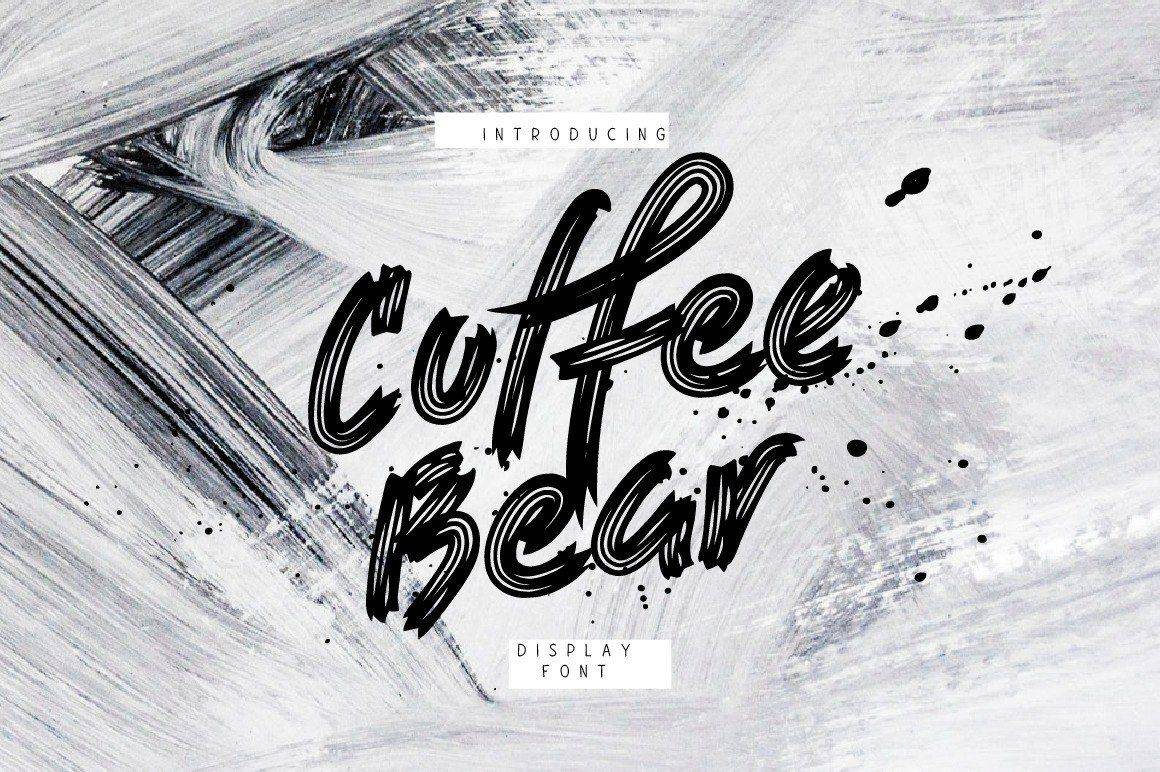 Download Coffee Bear font (typeface)