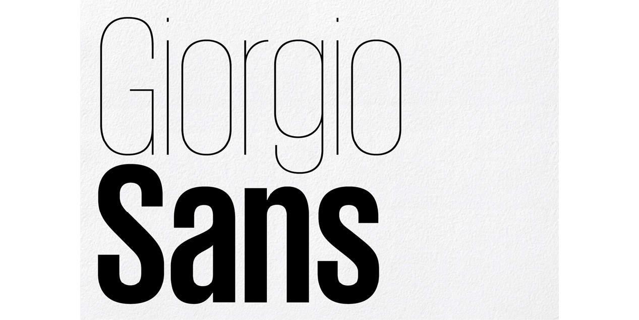Download Giorgio Sans Bold font (typeface)