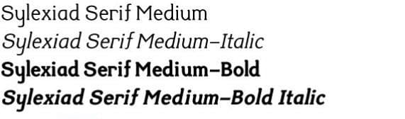 Download Sylexiad font (typeface)