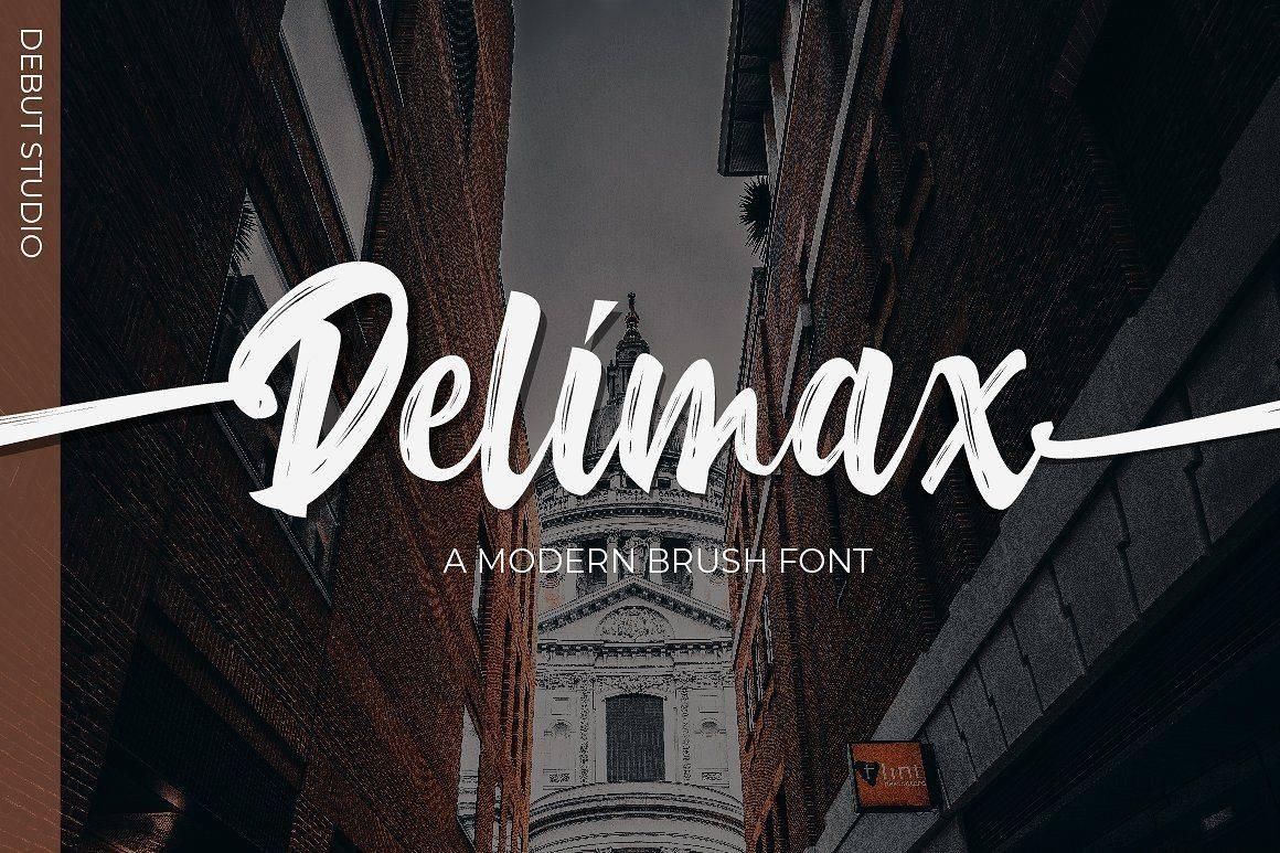 Download Delimax font (typeface)