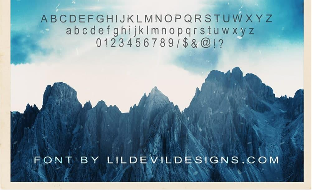 Download Torn font (typeface)