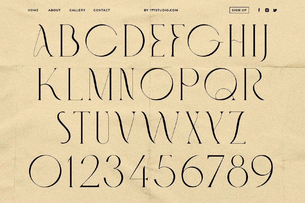 Download Fashionable font (typeface)