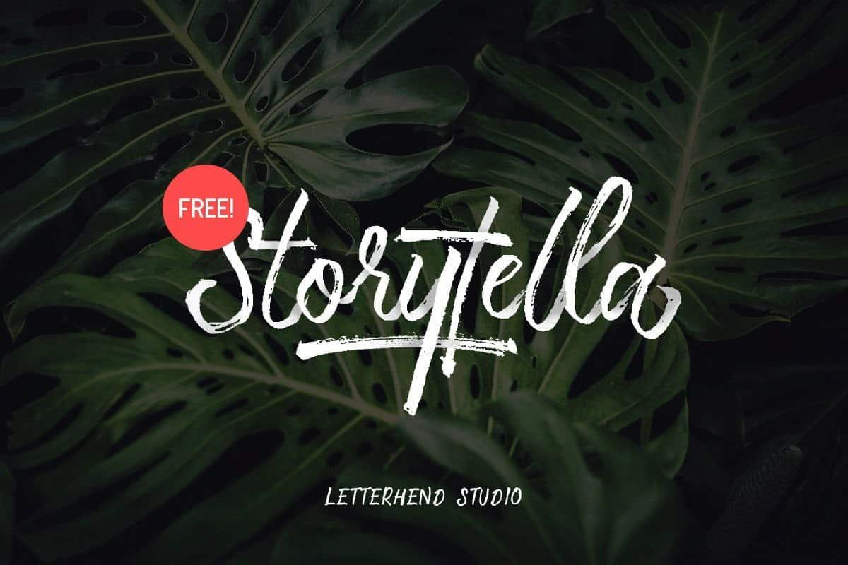 Download Storytella font (typeface)