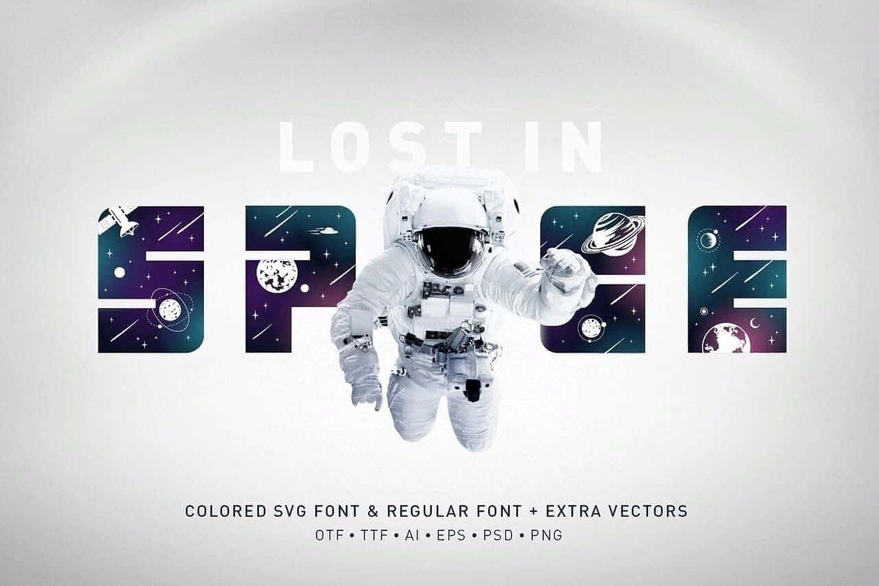 Download Space font (typeface)