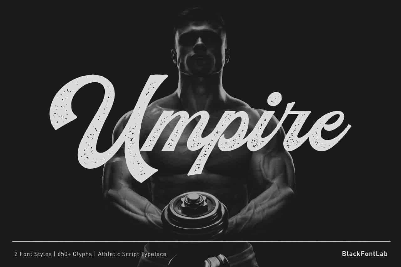 Download Umpire font (typeface)
