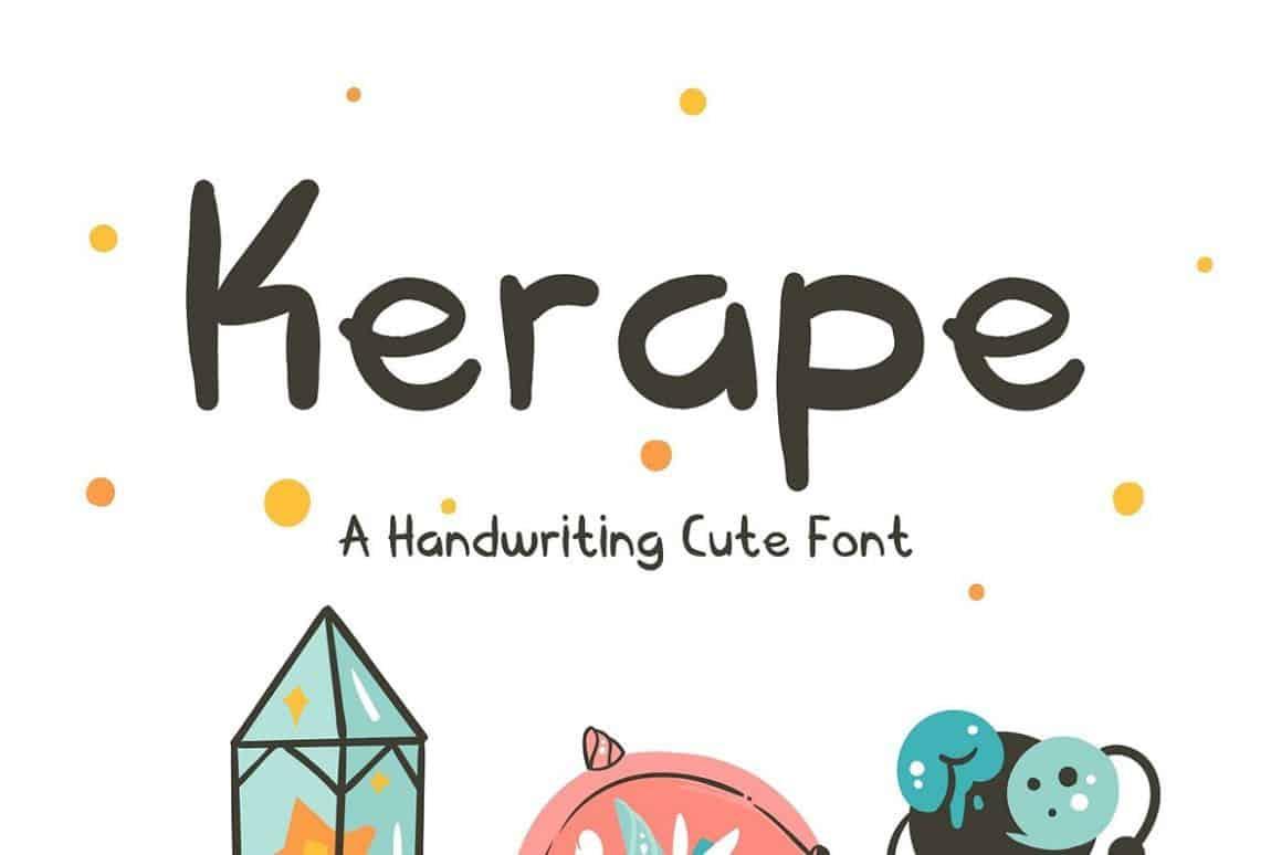 Download Kerape font (typeface)