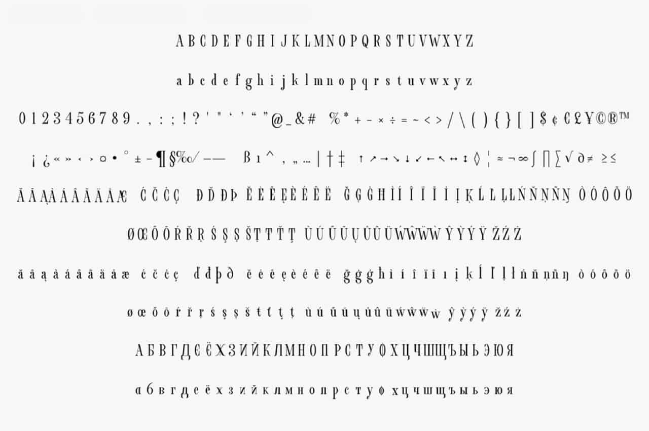 Download Fornire font (typeface)
