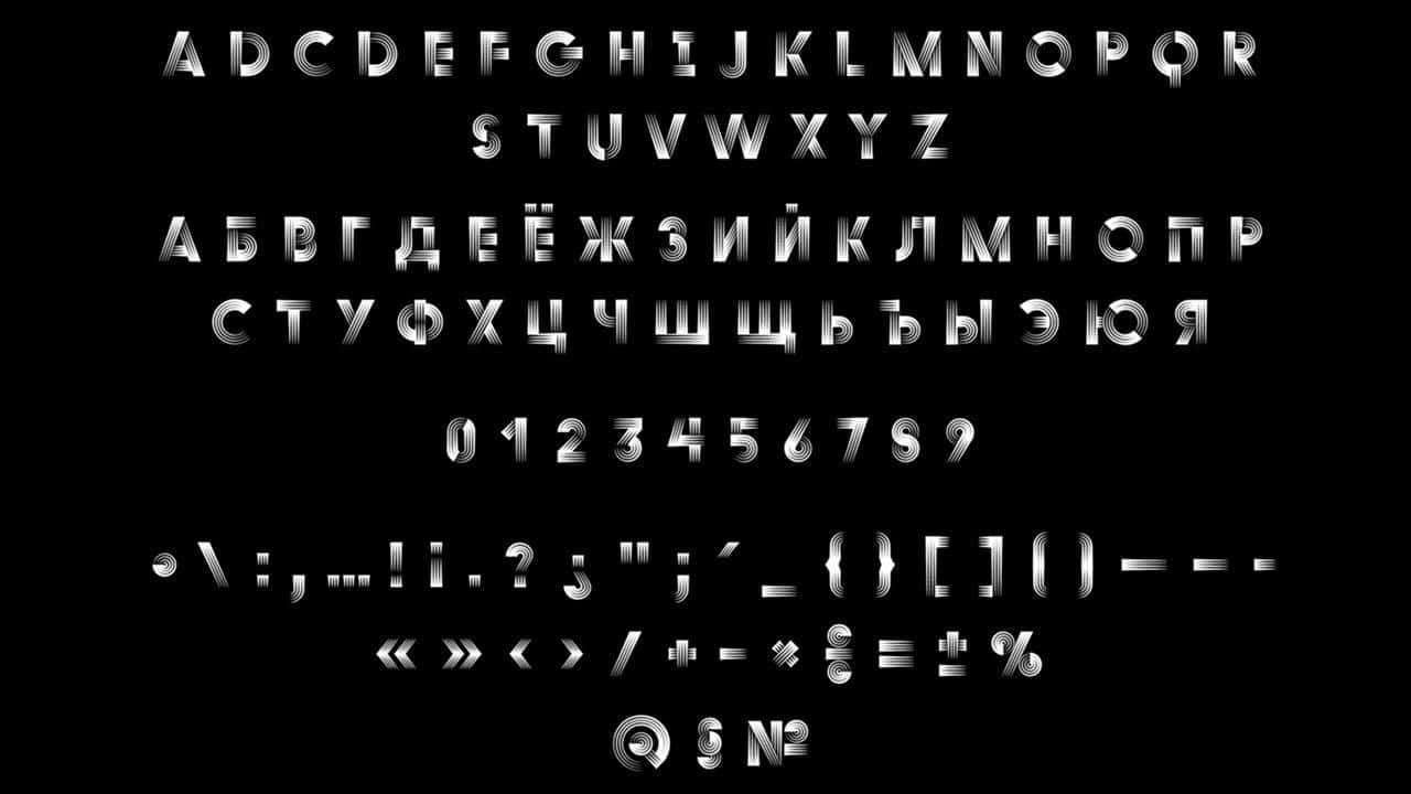 Download Duo Quadruple font (typeface)