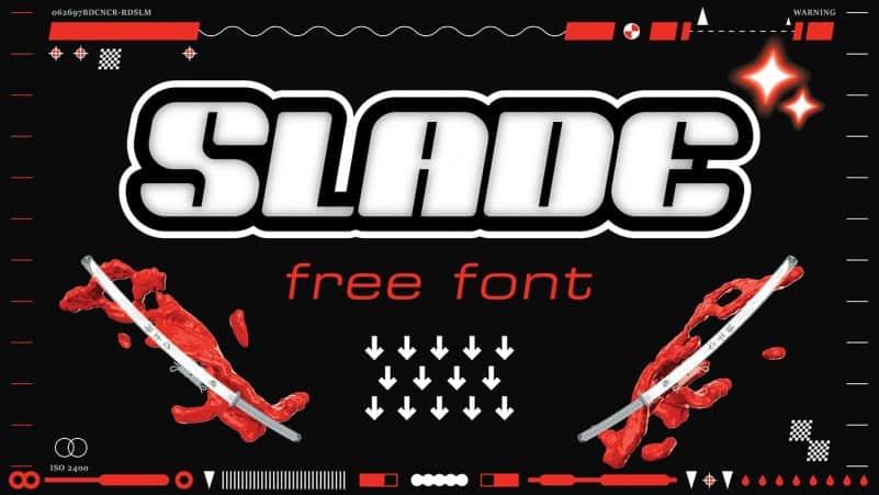 Download Slade font (typeface)