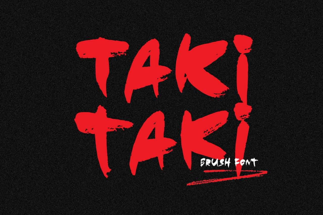 Download Taki Taki font (typeface)