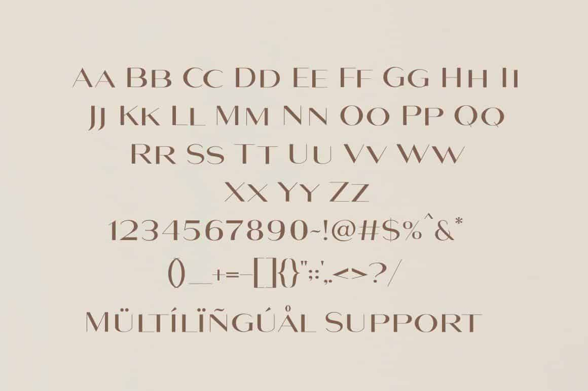 Download Maghony font (typeface)
